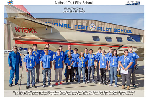 NTPS Completes Flight Test Camp 2015