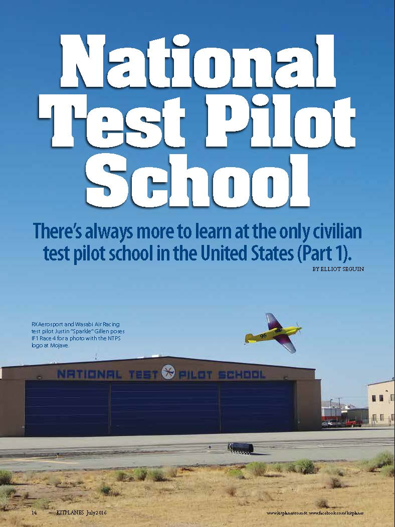 NTPS Featured in Kitplane Magazine